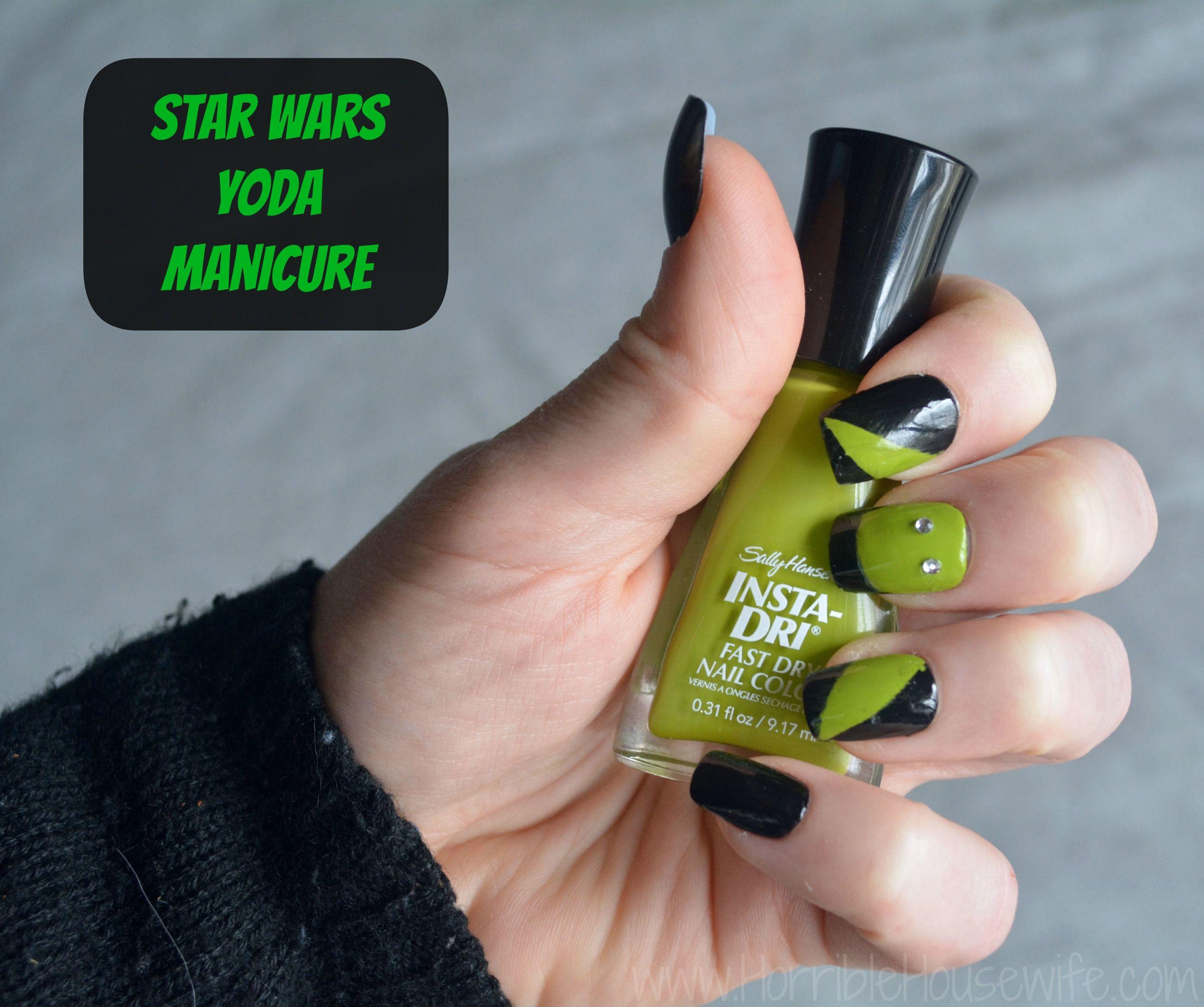 Star Wars Nail Art Party with Sally Hansen and Walgreens ...