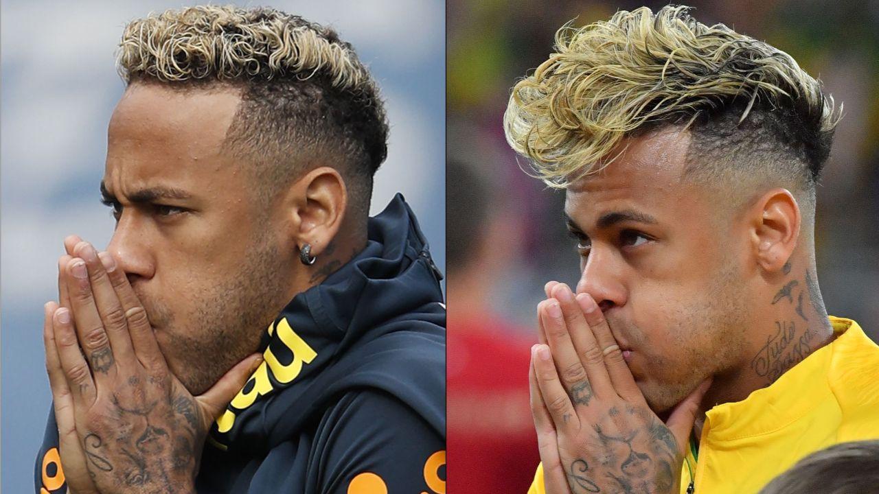 Spaghettis Sind Ab Neymar Jetzt Mit Kurzen Haaren Neymar Wm 2018 Fifa