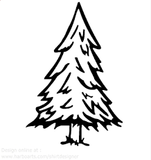 Simple Tree Graphic Google Search Tree Drawing Simple Pine Tree Drawing Flower Line Drawings