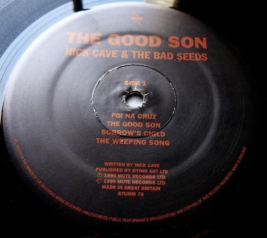 "NICK CAVE The Good Son 1990 UK MUTE 1st PRESS w/INNER + BONUS 7"" - MINT"