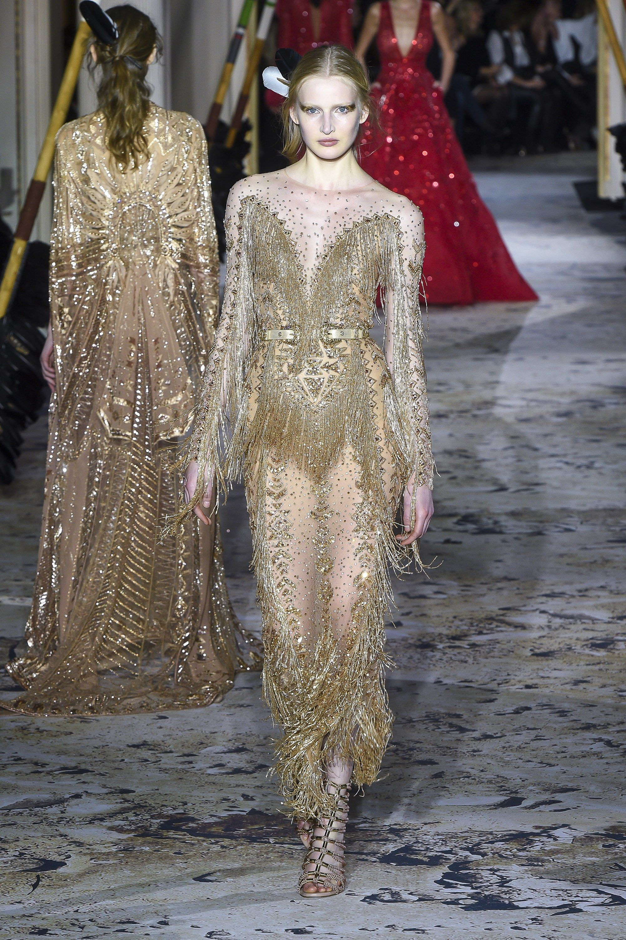 Zuhair Murad Spring 2018 Couture Fashion Show With Images Couture Fashion Fashion Haute Couture Fashion
