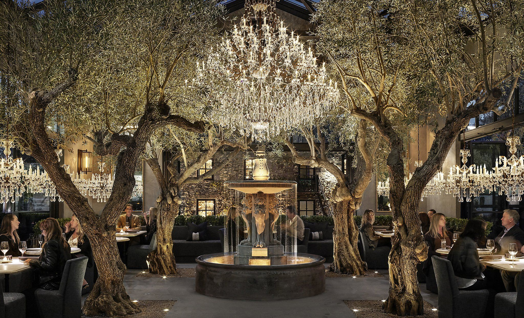Restoration Hardware's luxe new Yountville compound combines food, wine and retail #restorationhardware