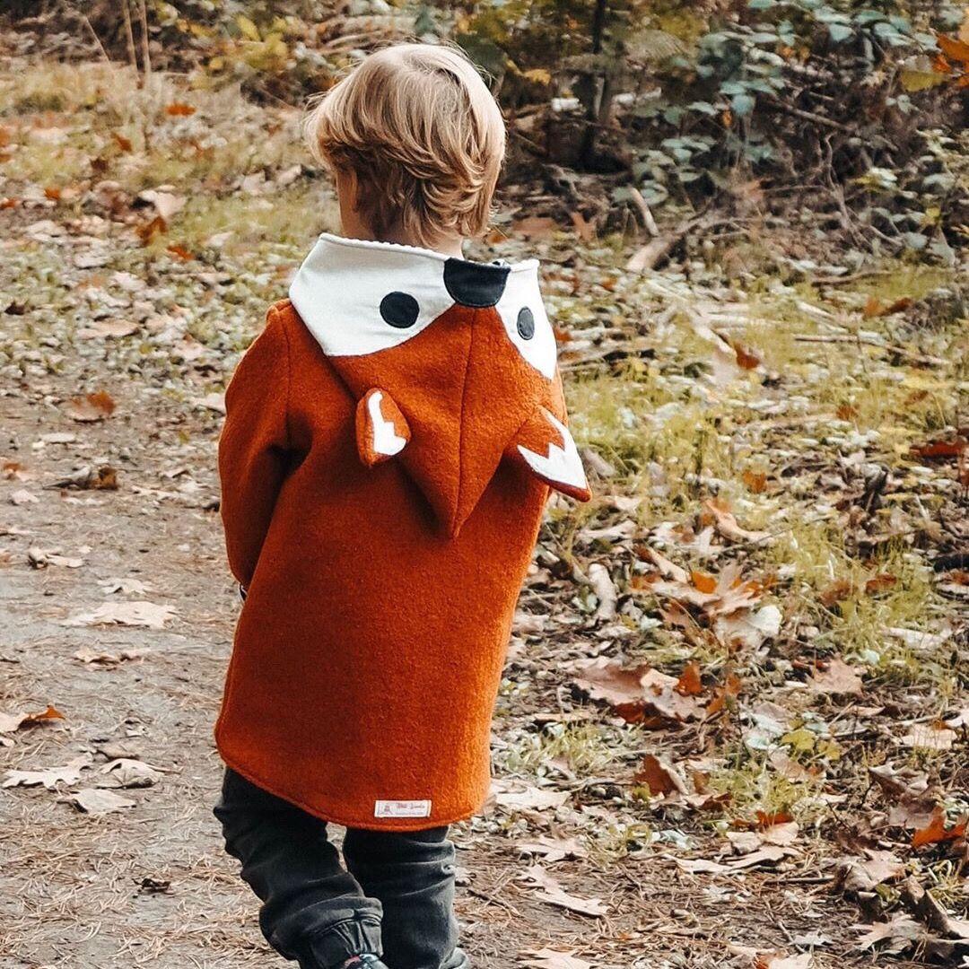 Photo of Fox jacket wool walk