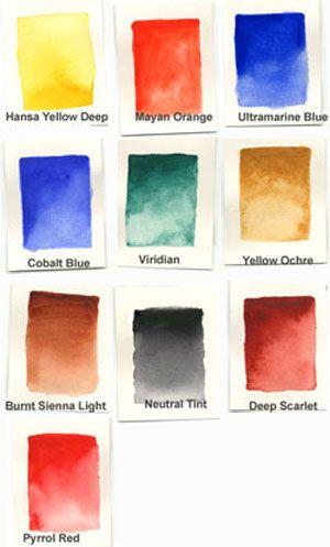 Daniel Smith Alvaro Castagnet Master Artist 10 Color 5ml