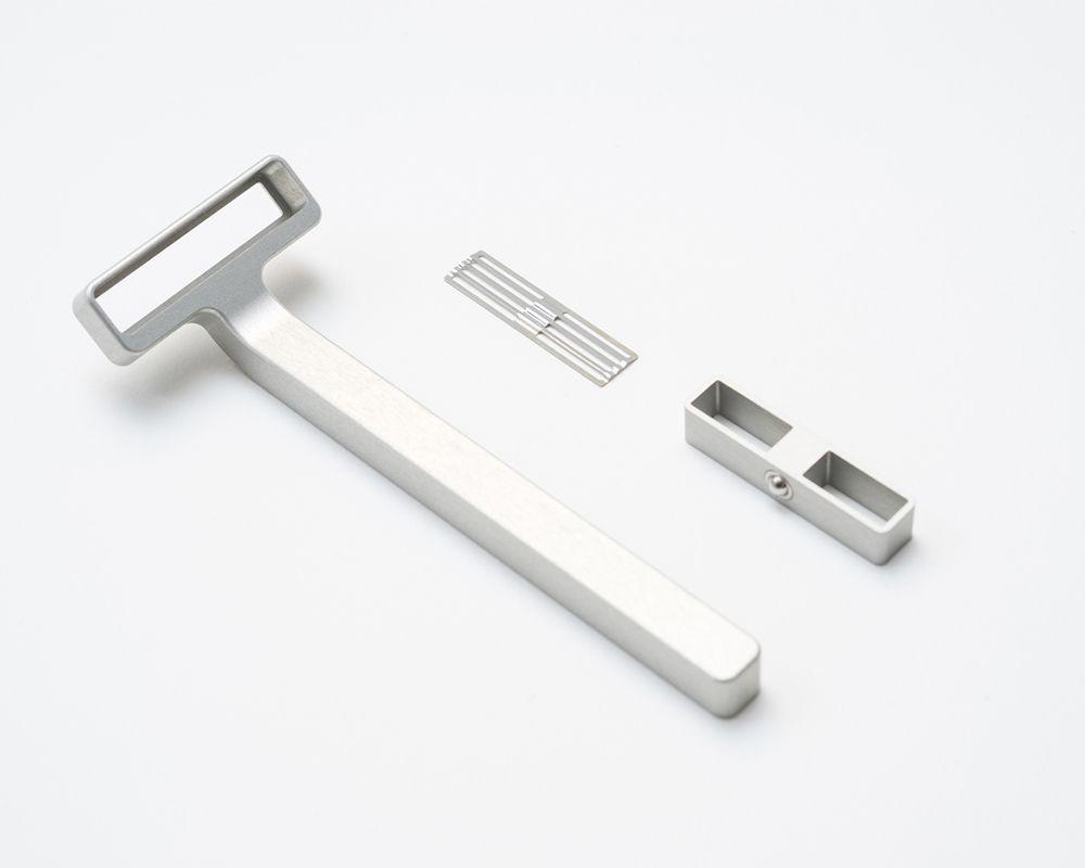 Le Industrial Design rzr le rasoir au design de schuur product design