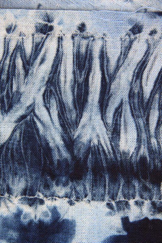 indigo javel shibori teinture tissu teinture textile et teinture bleu. Black Bedroom Furniture Sets. Home Design Ideas