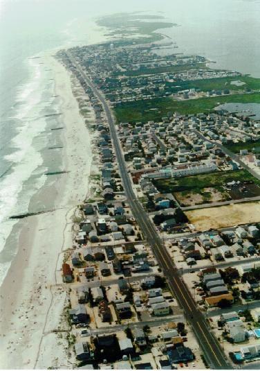 Aerial Photo Long Beach Island Nj