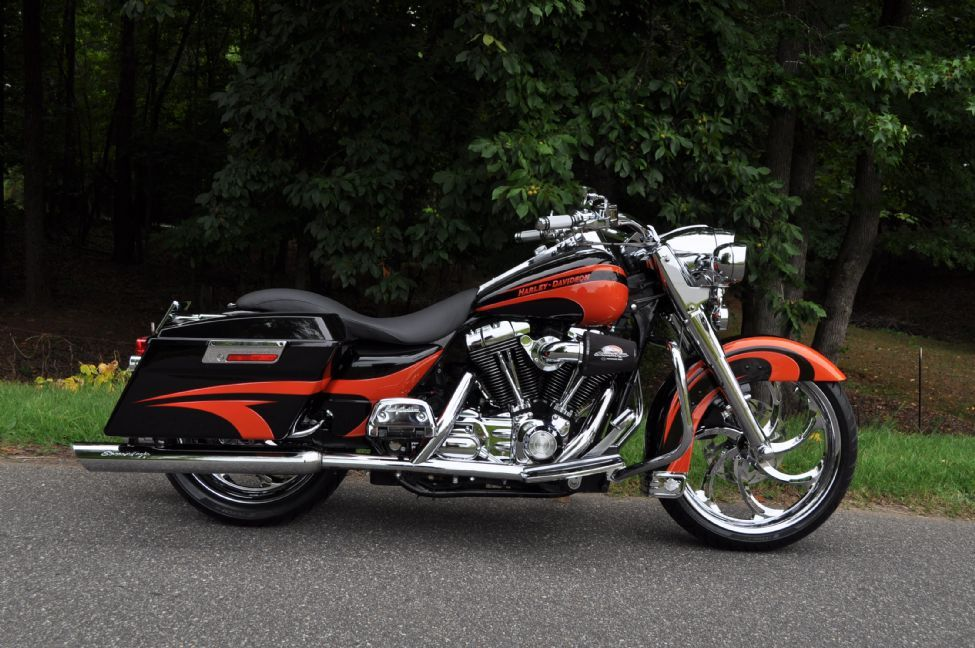 2006 custom road king gastonia used motorcycles for sale the bike exchange harley davidson. Black Bedroom Furniture Sets. Home Design Ideas