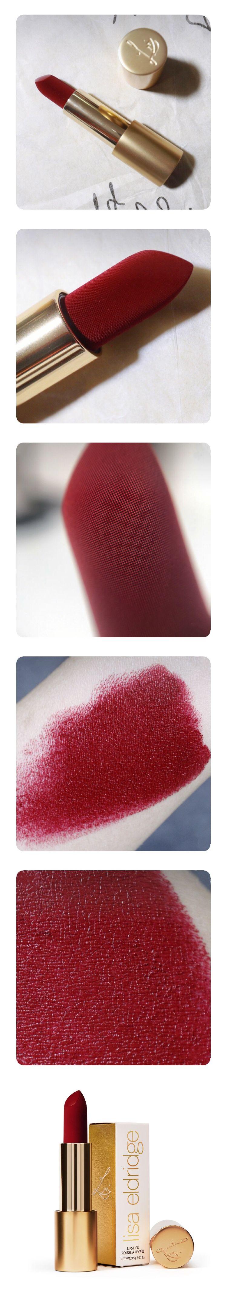 Lisa Eldridge Velvet Jazz : eldridge, velvet, Vintage, Collection…, VELVET, Eldridge., Saturated, Highly, Pigmented, Lipstick, Beautiful…, Eldridge,, Velvet
