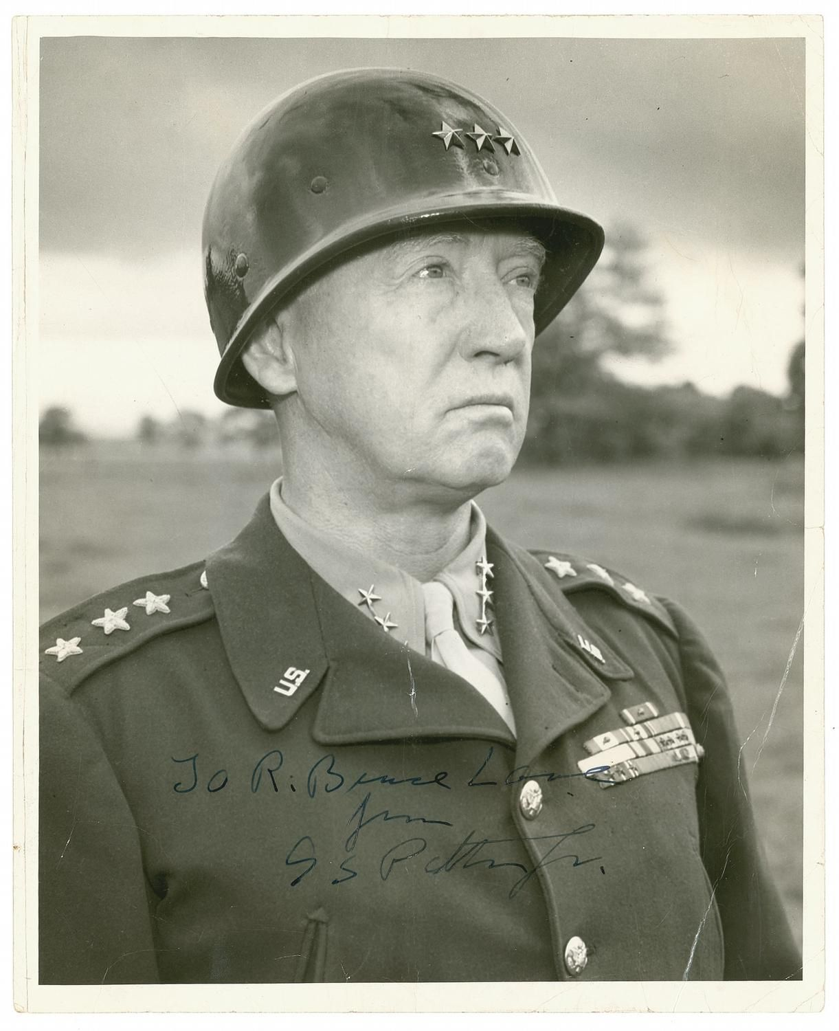the biographical information of george patton Patton is a 1970 american epic biographical war film about us general george s patton during world war ii it stars george c scott , karl malden , michael bates and karl michael vogler.