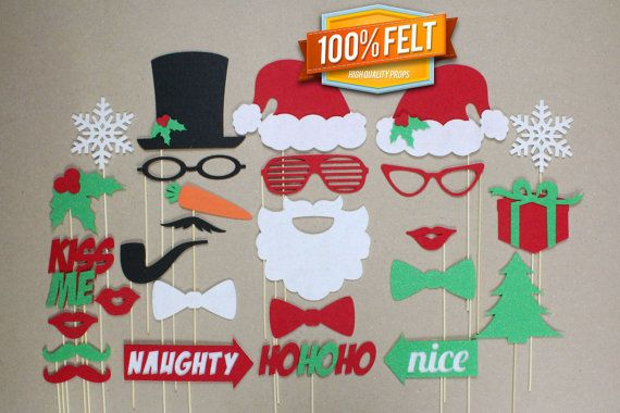 Photo Booth Weihnachten.Kerst Foto Booth Jul Photo Booth Navidad Natale