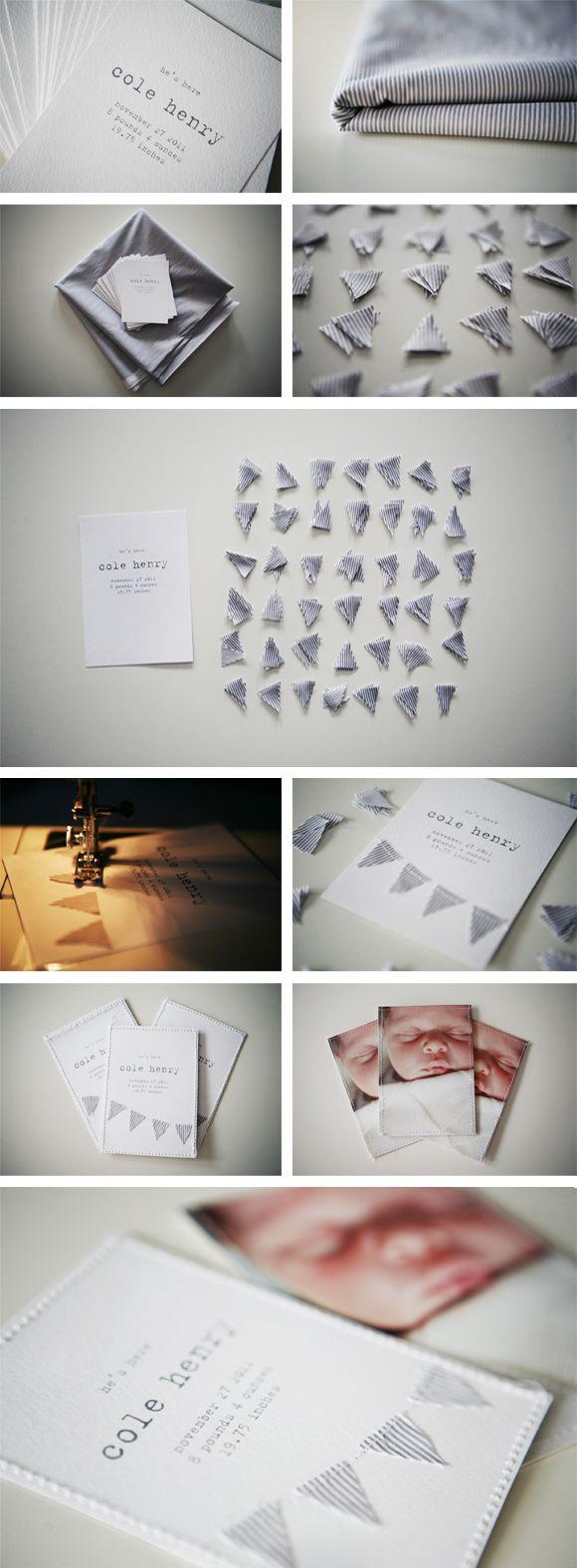 DIY photo cards