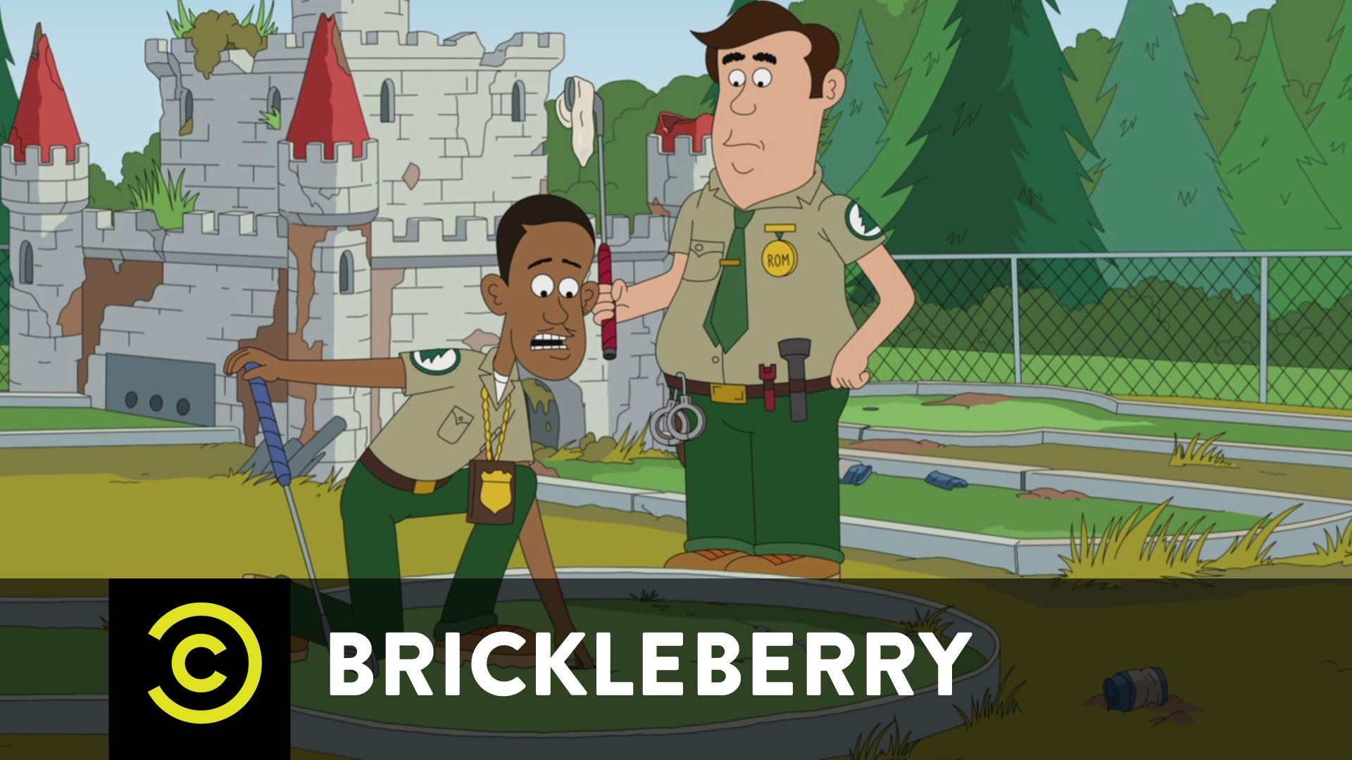 Brickleberry - A New Bum Hole