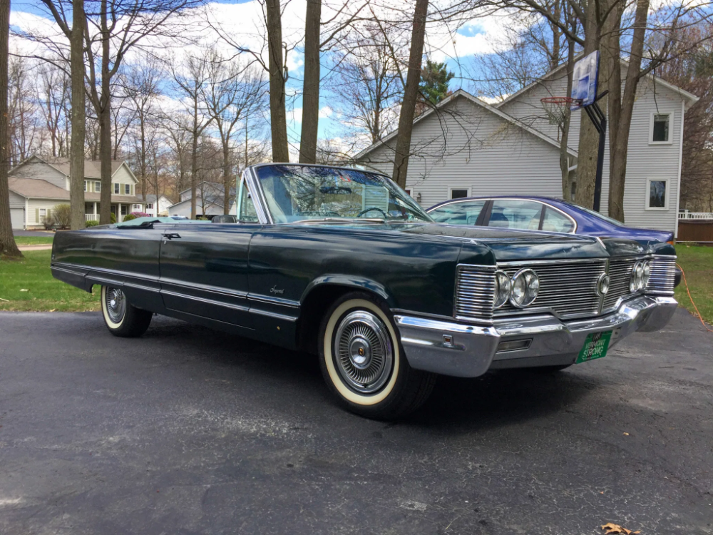 1968 Imperial Crown Convertible In 2020 Imperial Crown Chrysler Imperial Convertible