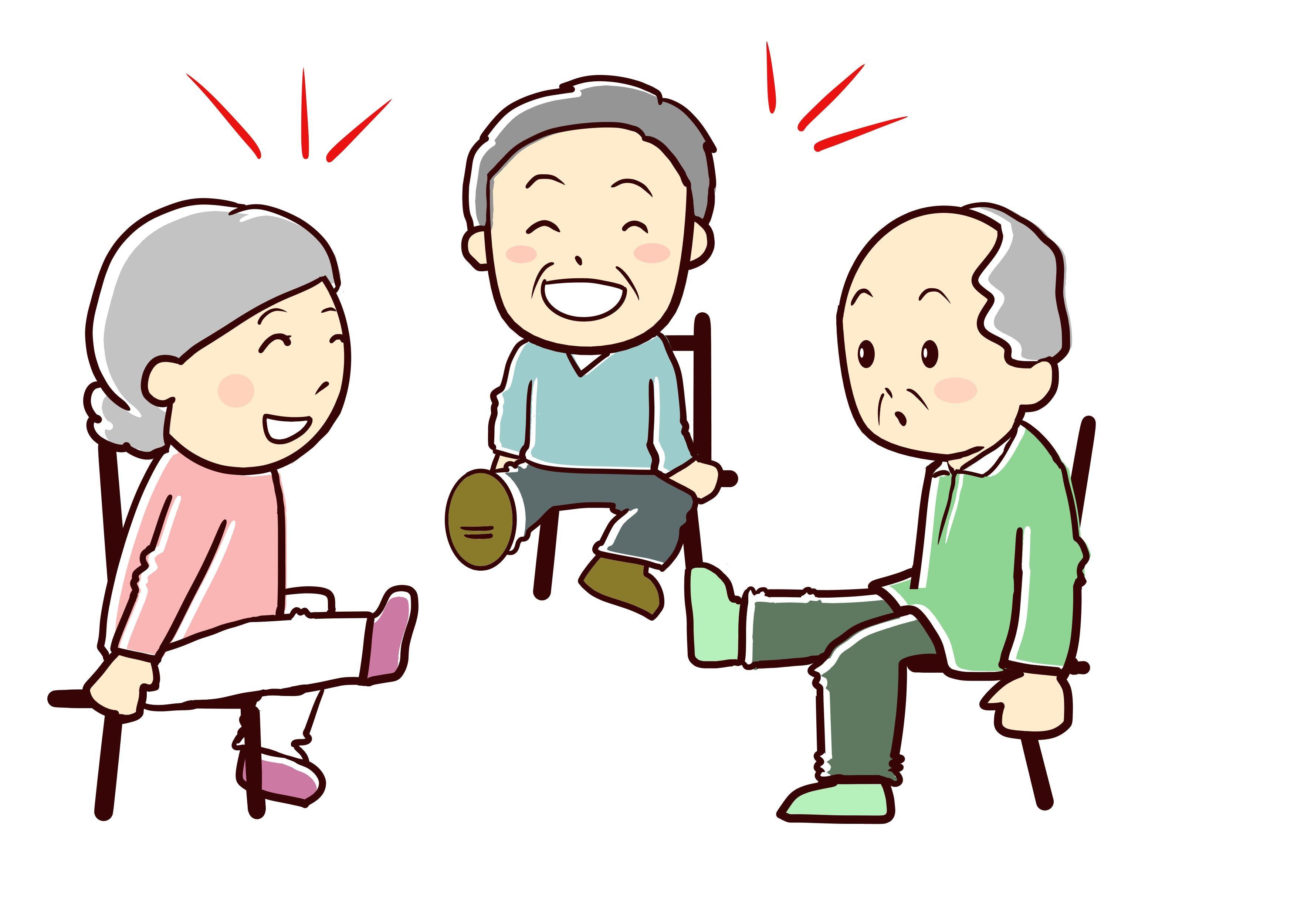 デイサービスのレクリエーションには様々なものがありますね 手を使ったものはゲーム以外にも作品づくりなどがありますし 足を使った足の運動にもなるゲームだってあります しかし よく振り返ってみる 体操 イラスト レクリエーション 高齢者