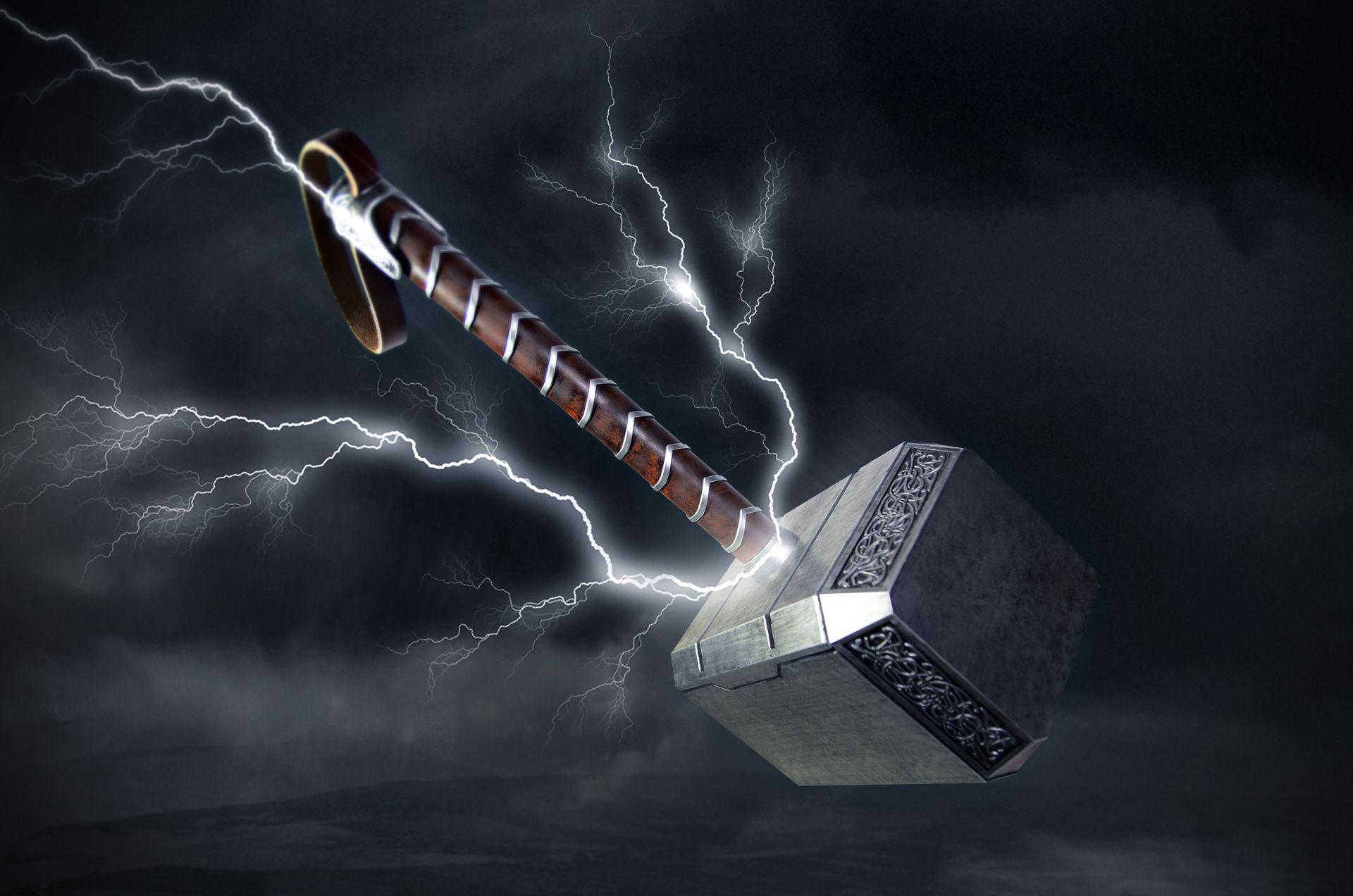 Thors Hammer Wallpaper Thor Wallpaper Thors Hammer Marvel Wallpaper