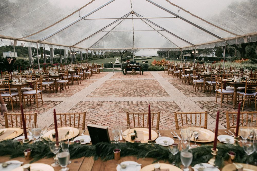 Rustic Farmhouse Table in 2020 Chicago wedding venues