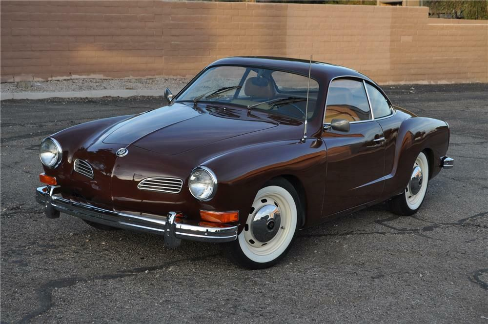 1973 VOLKSWAGEN KARMANN GHIA COUPE -  - Barrett-Jackson Auction Company - World's Greatest Collector Car Auctions