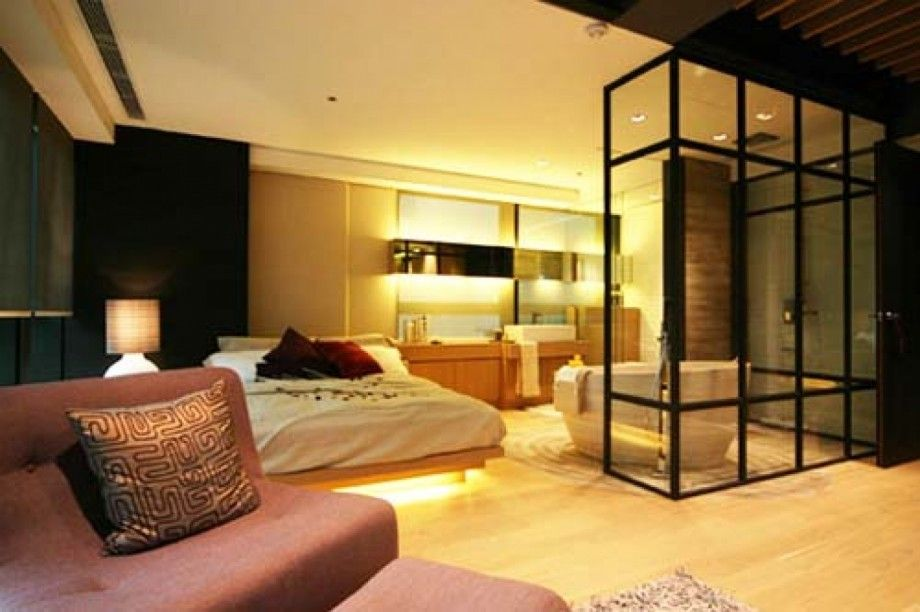 Contemporary Japanese Apartment Design Luxury Bedroom Design