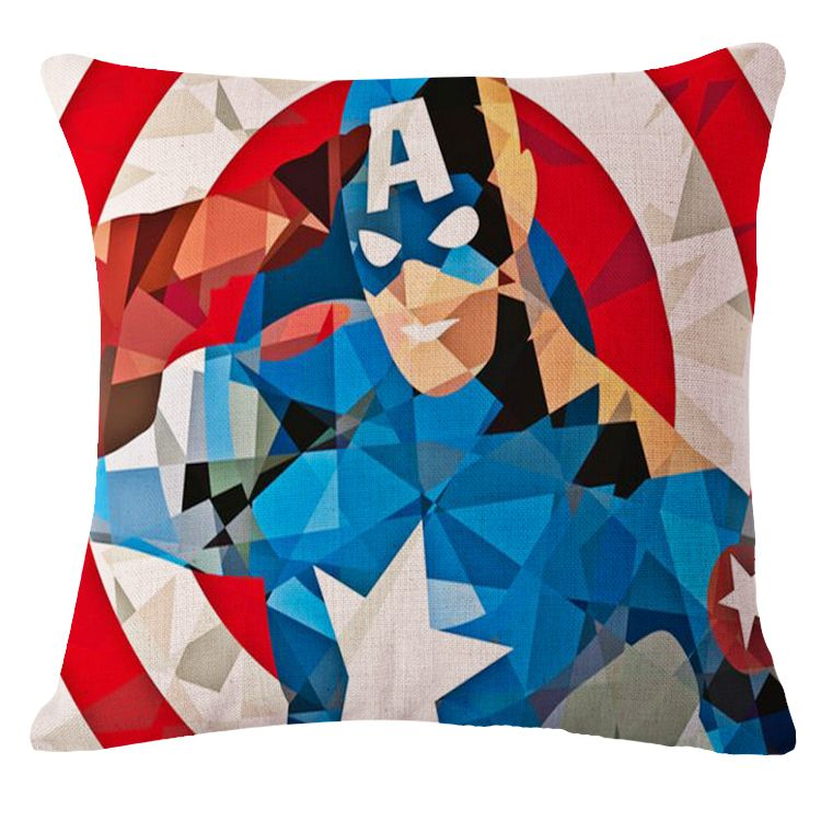 dc comics pillow captain america