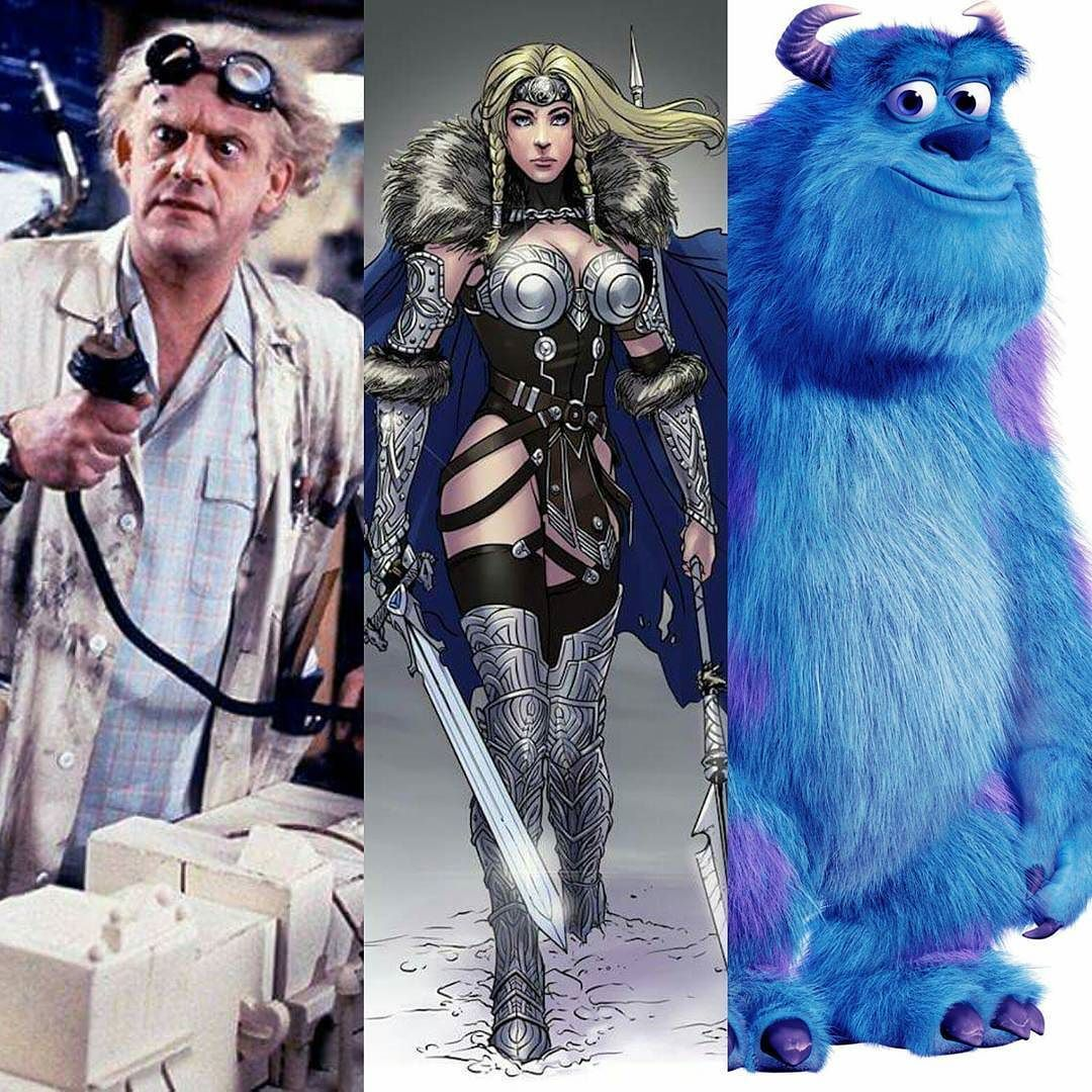 Describe yourself in #threefictionalcharacters  Doc Brown - Mad Scientist tinkerer student of all sciences  sometimes absent-minded sometimes hyper-focused somewhat innocent and very enthusiastic  Valkyrie - Demi-Goddess female helping spirit fierce warrior protector of the home front has wings you cant always see. (natural blonde often seen in a crown kinda thing looks good in a corset)  Sully - basically nice loyal sometimes scary sometimes cowardly but always defends friends/family…