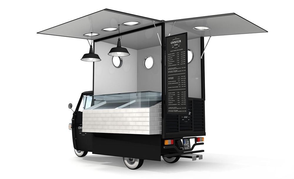 120125 vw bus pinterest food truck street for Coffee cart design