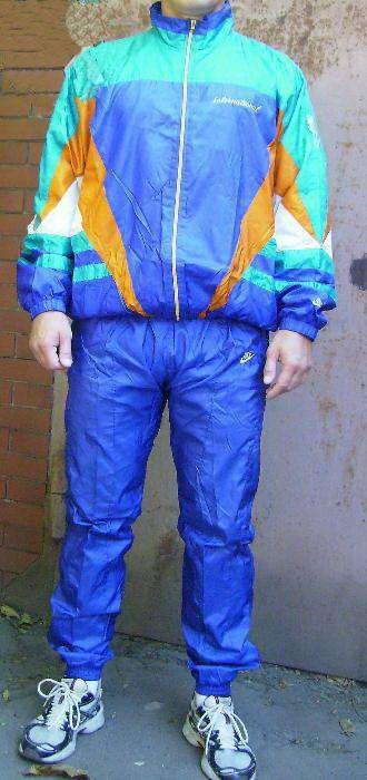 1990s School tracksuit vintage blue Old neon NIKE track nylon qSOwpCxR
