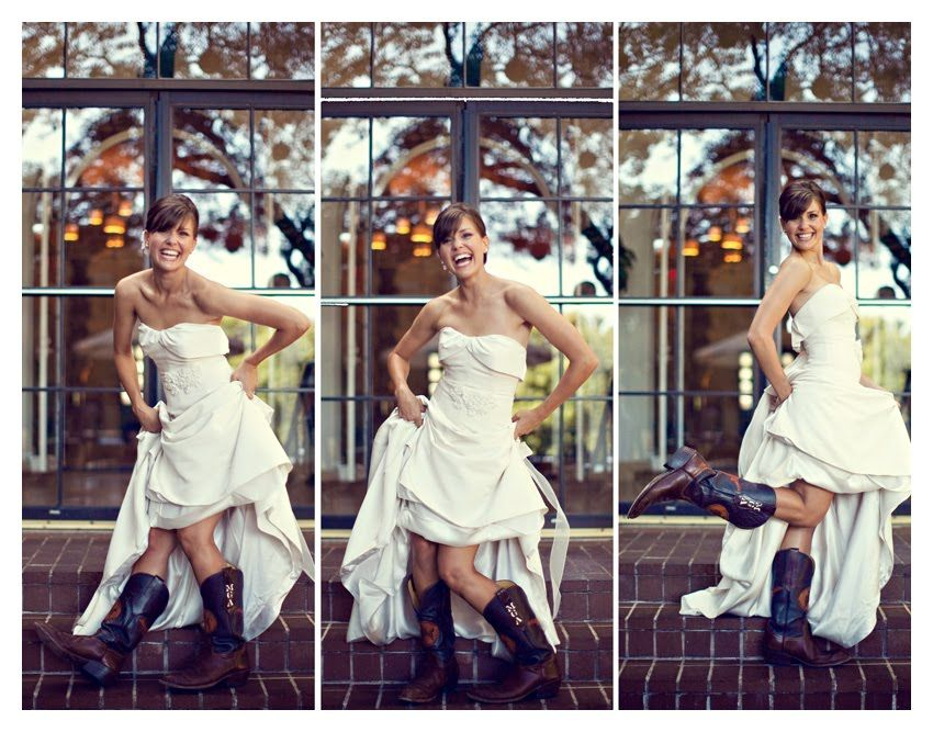 wedding dress short in front long in back country western look ...