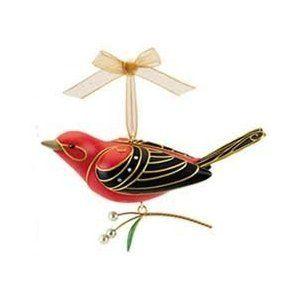 Hallmark 2015 Western Tanager Beauty of Birds Series Ornament