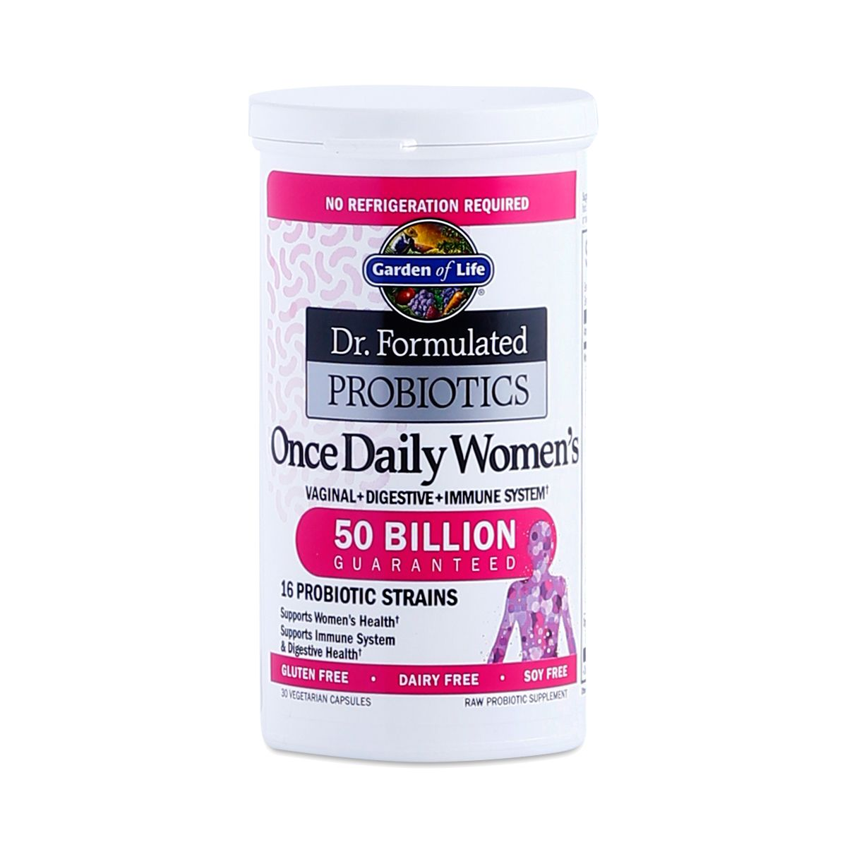 Garden Of Life Once Daily Women S Probiotic 30 Capsules In 2020 Probiotics Human Nutrition Nutrition Website