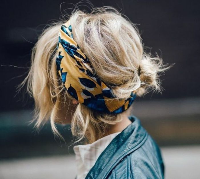 1001 inspirierende ideen für coole bandana frisuren dame
