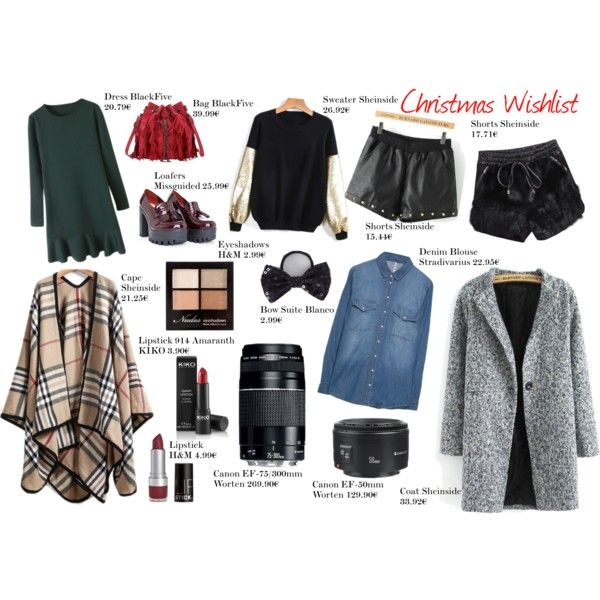 """""""Christmas Whishlist"""" by dianabarreto on Polyvore"""