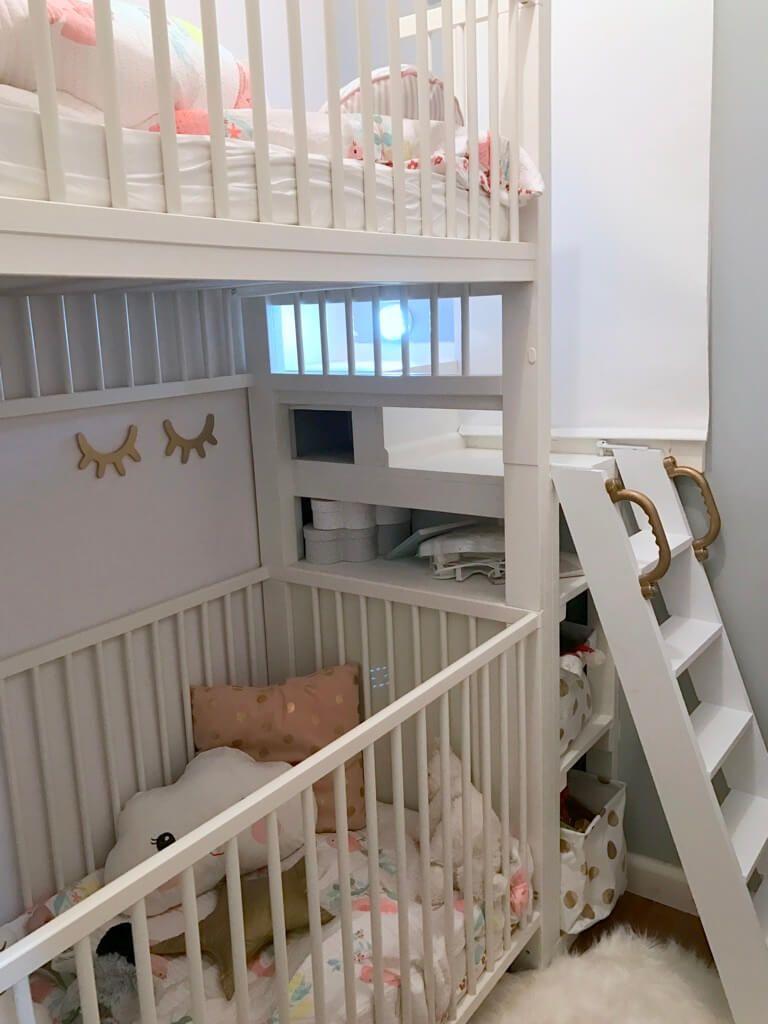 Chambre Petite Fille 3 Ans des lits d'enfants superposés à partir des lits bébé ikea