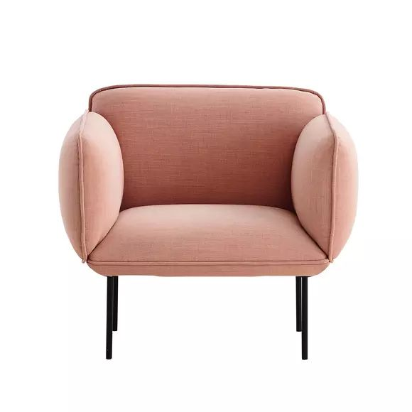 Fauteuil NAKKI rose sur The Cool Republic