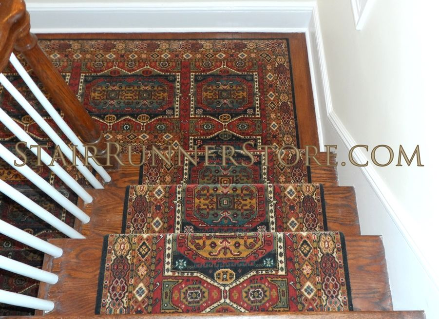 Persian Garden Stair Runner 16 Multi Stair Runner Wool Stair