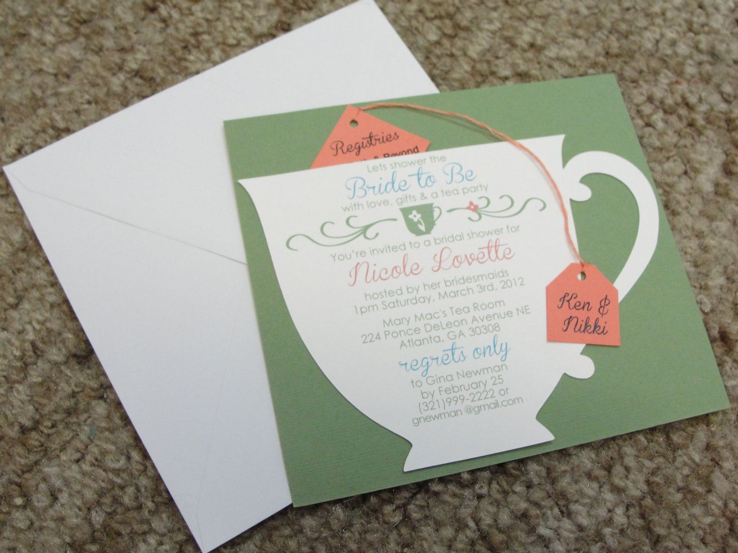 Tea Party Themed Bridal Shower Essentials and Ideas | Themed bridal ...