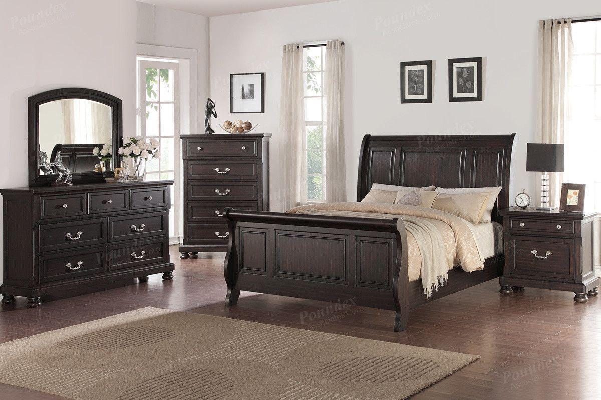 Poundex Chest F4276 Bedroom sets, 5 piece bedroom set