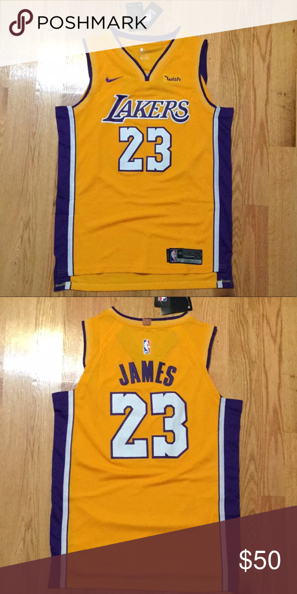 bd7912ef6785 Nike Lakers Jersey LeBron James  23 Nike Other