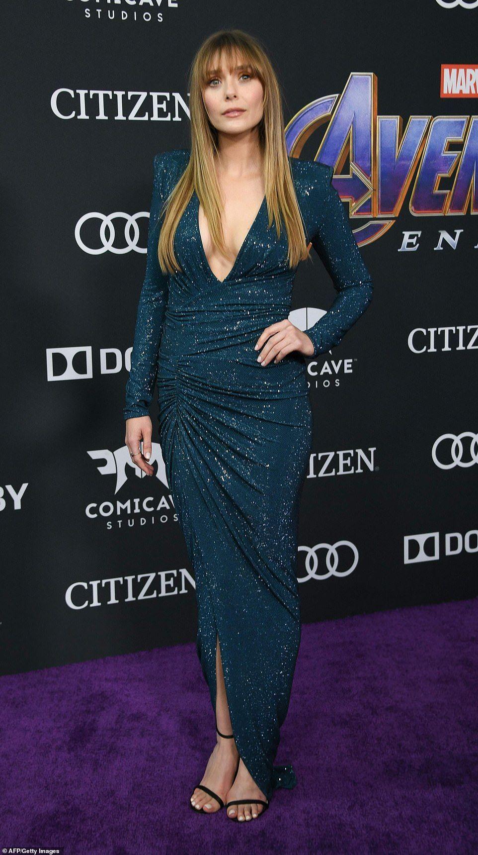 Scarlett Johansson Brie Larson Dazzle At Avengers Endgame Premiere Elizabeth Olsen Elizabeth Olsen Scarlet Witch Olsen