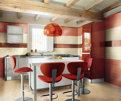 Kleine Küche Farbe Ideen | Küchendesign modern, Moderne ...