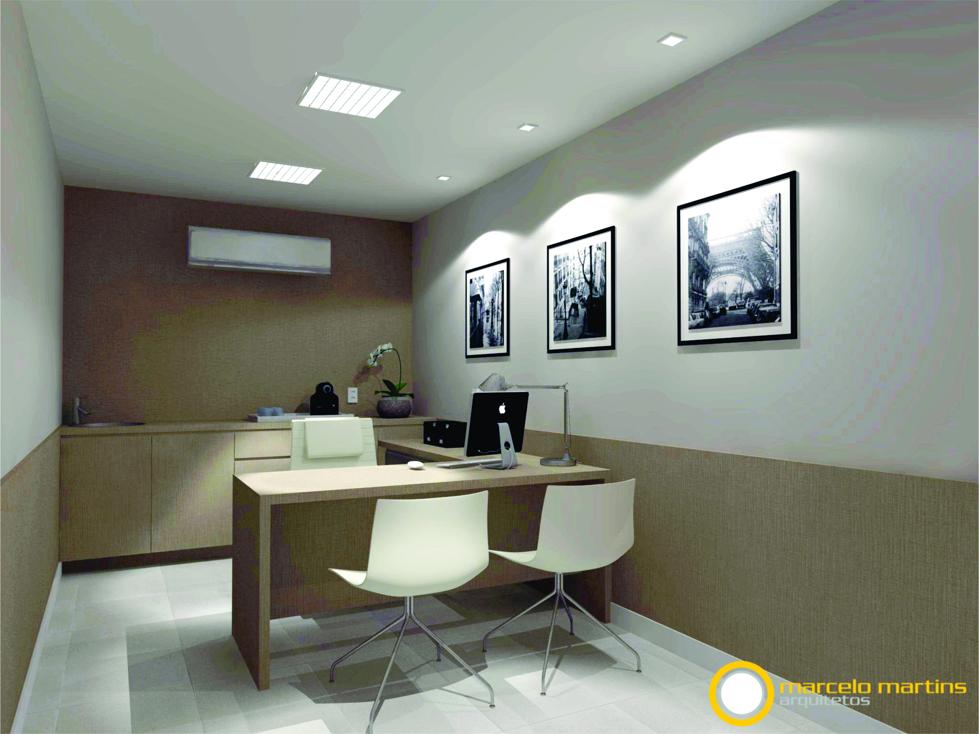 Sala Diretor Principal 39 S Office Maqueteletronica
