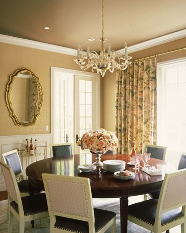 Love the round dining table and love the chairs!!