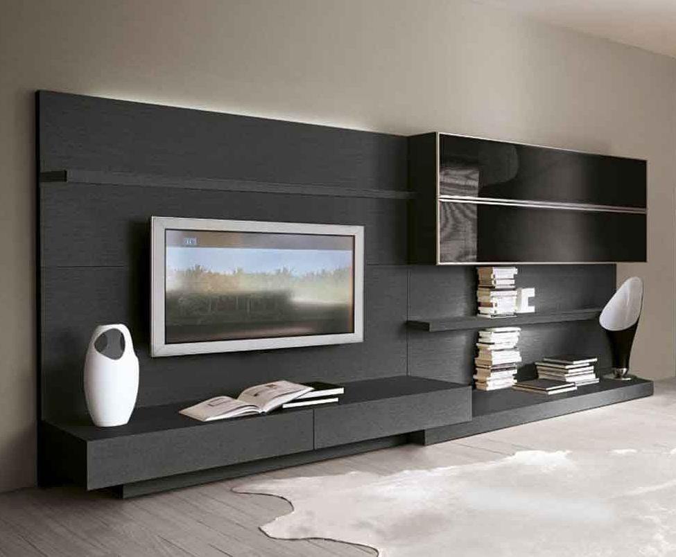 tv unit tv pinterest wohnzimmer tv w nde und salons. Black Bedroom Furniture Sets. Home Design Ideas