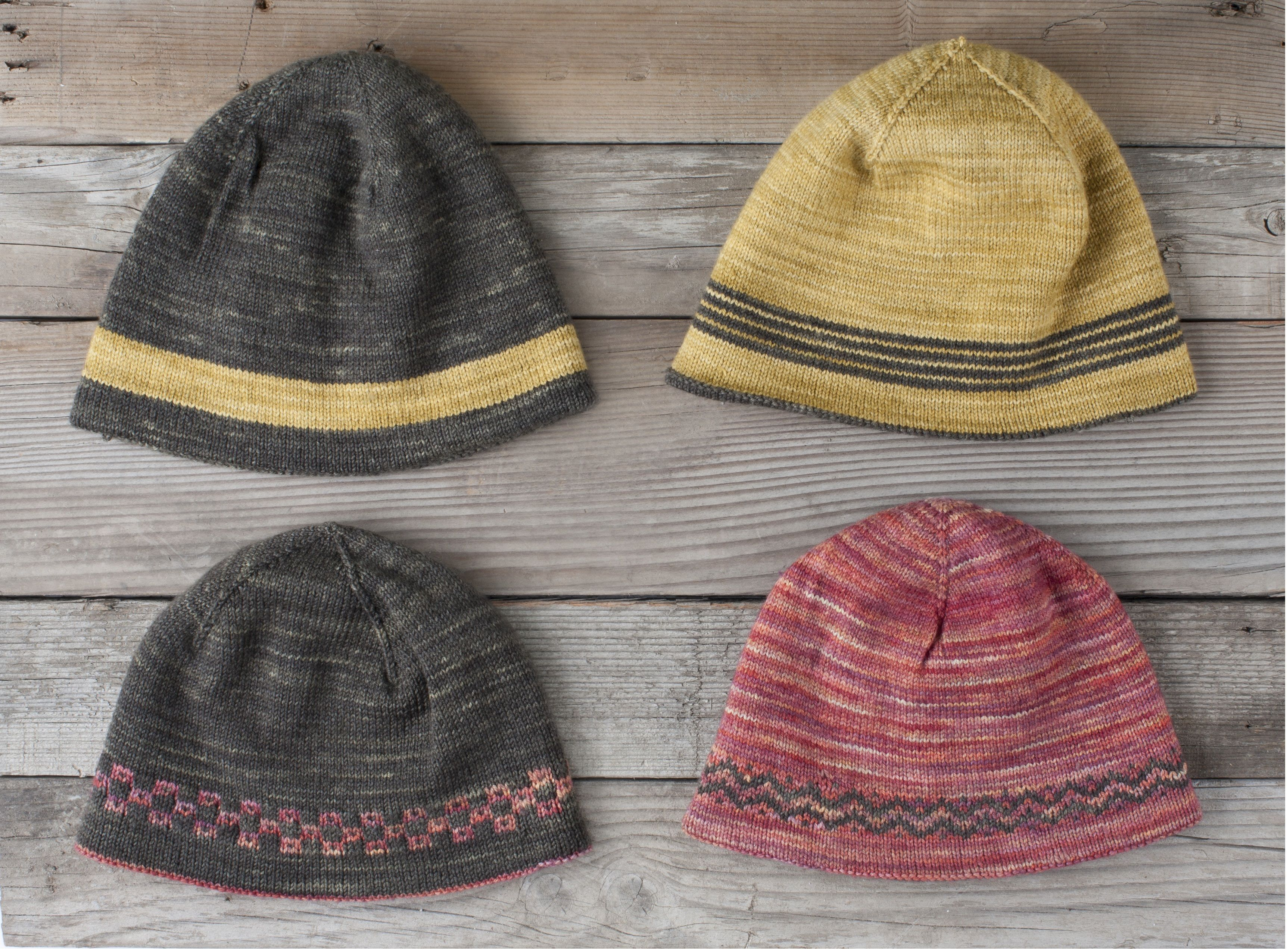 Use up Sock Yarn with a Reversible Hat Pattern - Inside Knits ...
