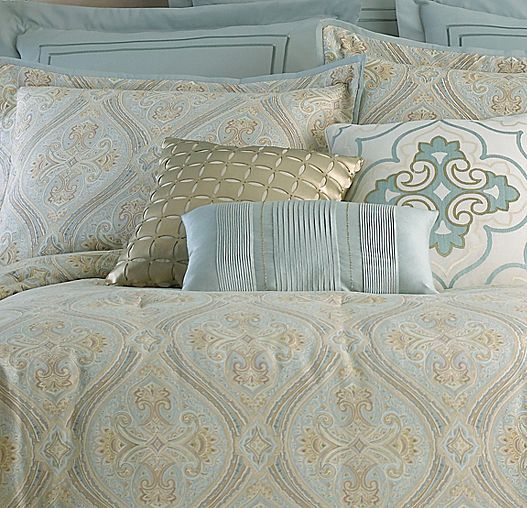 Love This Calming Cool Blue Set White Comforter Comforter Sets