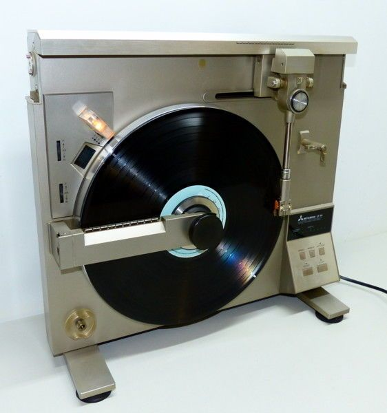 Mitsubishi Lt-5v Turntable in Consumer Electronics, Vintage Electronics, Vintage Audio & Video | eBay! #audiovideo