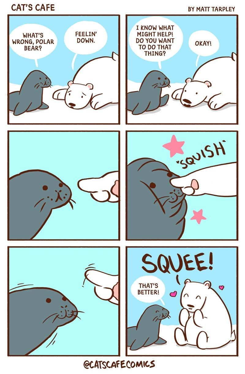 If You Like Feel Good Stories About Cute Animals, We Have The Perfect Comics For You! If You Like Feel Good Stories About Cute Animals, We Have The Perfect Comics For You! - World's largest collection of cat memes and other animals