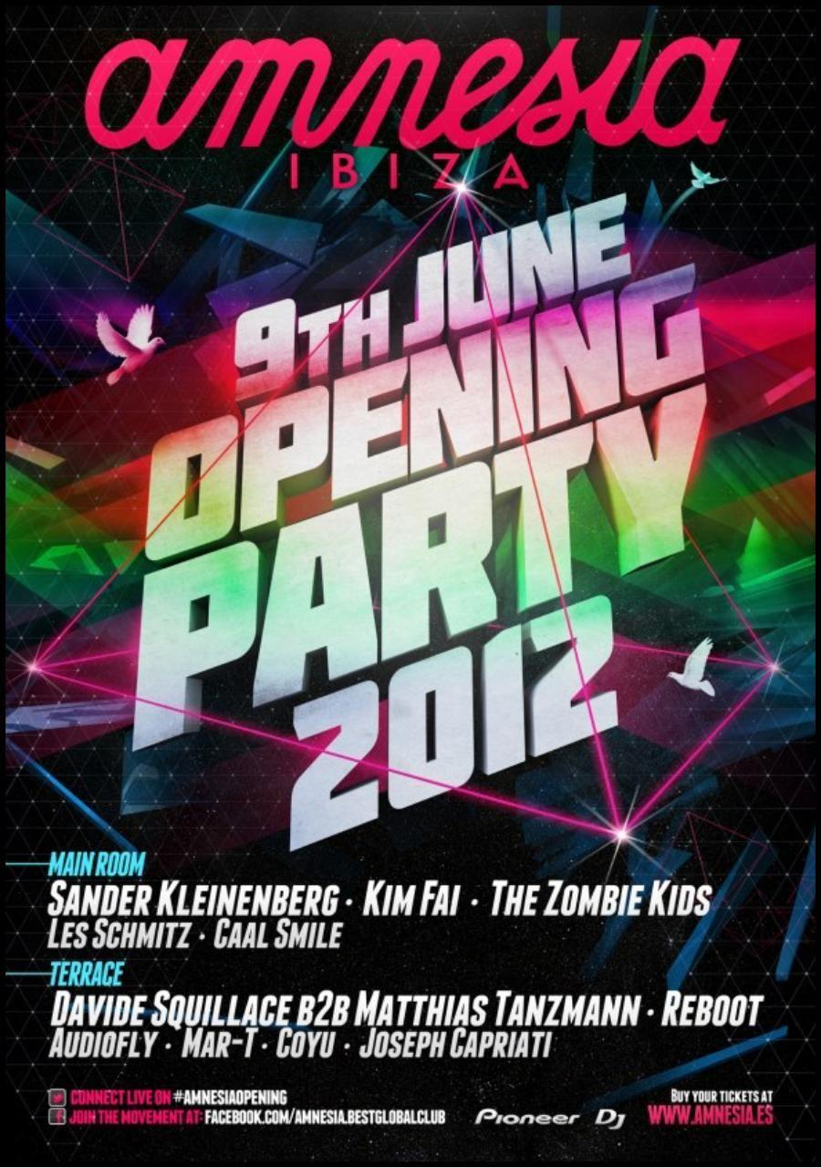 openning amnesia 2012