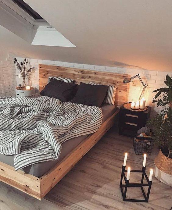 Trend: een houten bed in je slaapkamer #slaapkamerideeen