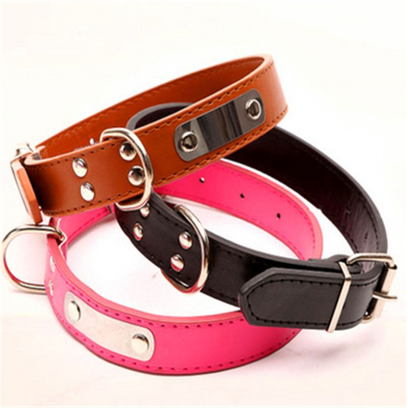 Type Dogs Dog Harness Type None Type Collars Material Leather